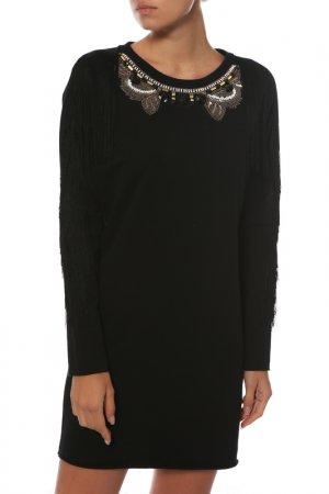 Платье-туника JIJIL. Цвет: черный