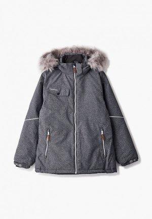 Куртка утепленная Kuoma. Цвет: серый