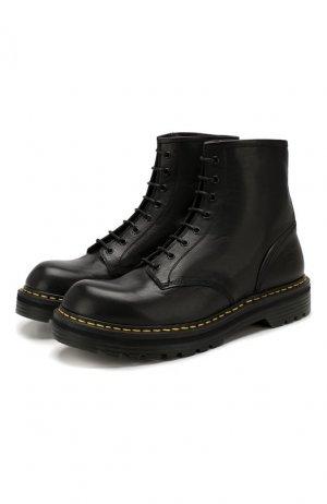 Кожаные ботинки Premiata. Цвет: чёрный