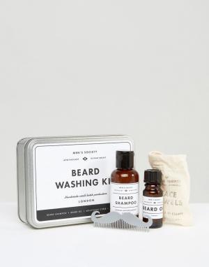 Набор средств для ухода за бородой Mens Society-Мульти Men's Society