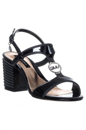 High heels sandals GianMarco Venturi. Цвет: black