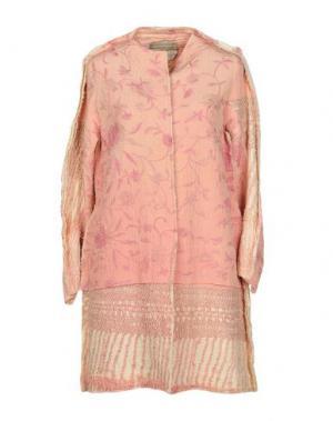 Легкое пальто BY WALID. Цвет: розовый