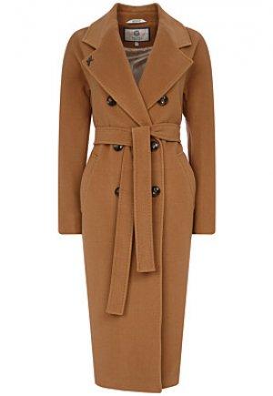 Удлиненное пальто с поясом Electrastyle