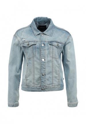 Куртка джинсовая s.Oliver Denim. Цвет: голубой