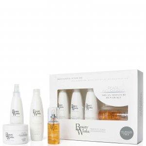 Набор для восстановления волос Argan Oil Moisture Repair Gift Set Beauty Works