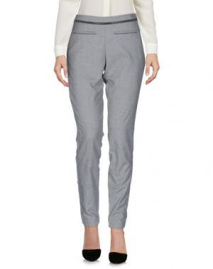 Повседневные брюки GUSTAV. Цвет: светло-серый