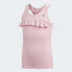 Майка Ribbon Performance adidas. Цвет: розовый