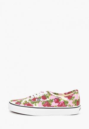 Кеды Vans UA Authentic. Цвет: розовый