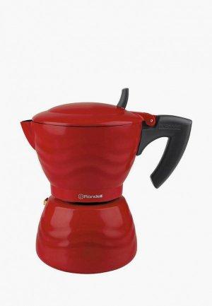 Кофеварка Rondell Fiero. Цвет: красный