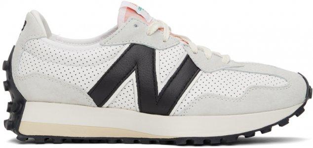 White New Balance Edition 327 Sneakers Casablanca. Цвет: white