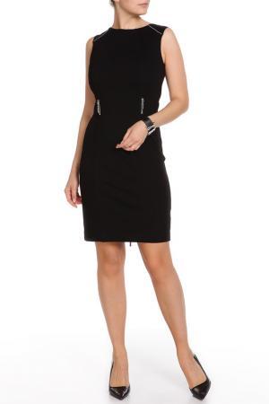 Платье LAFEI-NIER. Цвет: черный