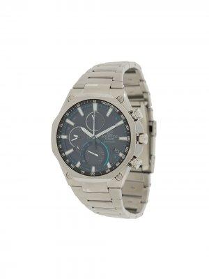 Наручные часы EQB-1100D1-AER 51 мм G-Shock. Цвет: серебристый