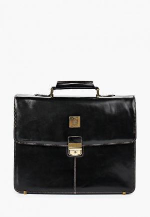 Портфель Franchesco Mariscotti. Цвет: коричневый