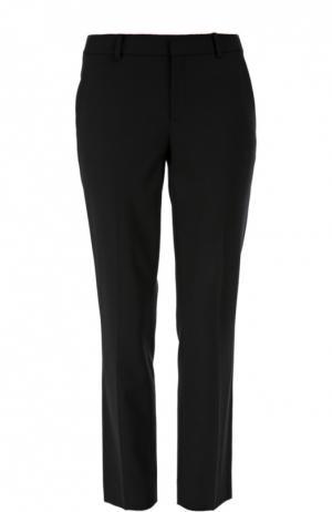 Укороченные брюки прямого кроя с карманами Ralph Lauren. Цвет: черный