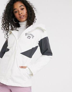 Белая горнолыжная куртка -Белый Billabong