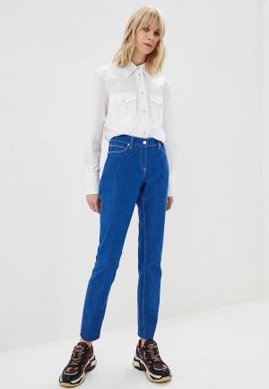 Рубашка Calvin Klein. Цвет: белый
