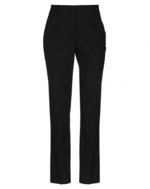 Повседневные брюки CAPPELLINI by PESERICO. Цвет: черный