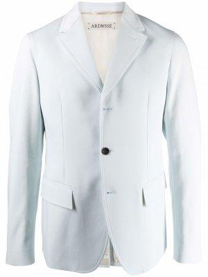 Пиджак строгого кроя ARDUSSE. Цвет: синий