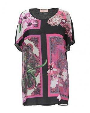 Блузка COCCAPANI TREND. Цвет: черный