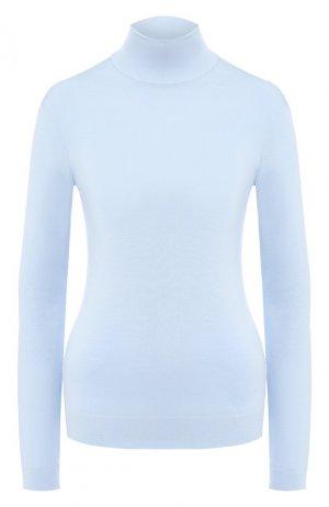 Шерстяная водолазка Givenchy. Цвет: голубой
