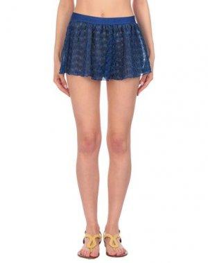 Пляжные брюки и шорты MISSONI MARE. Цвет: ярко-синий
