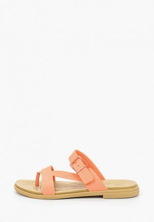 Сланцы Crocs Tulum Toe Post Sandal W. Цвет: оранжевый