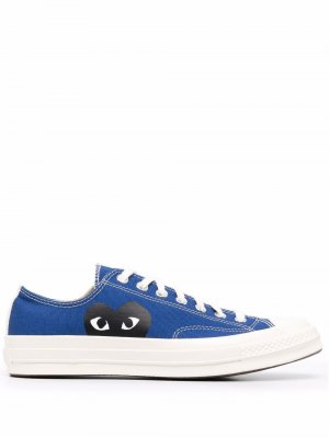 Chuck Taylor low-top sneakers Comme Des Garçons Play x Converse. Цвет: синий