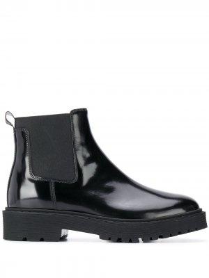 Лакированные ботинки челси Hogan. Цвет: черный