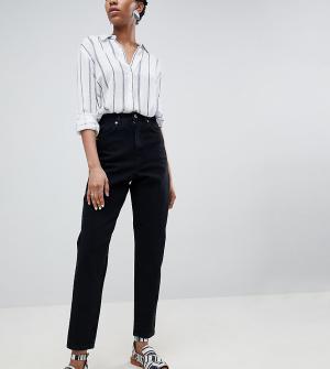 Черные джинсы бойфренда ASOS DESIGN Tall-Черный Tall