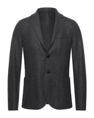 Пиджак HARRIS WHARF LONDON. Цвет: стальной серый