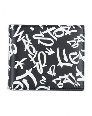 Бумажник NEIL BARRETT. Цвет: черный