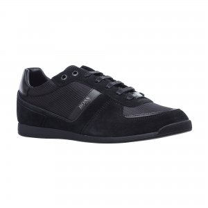 Сланцы Maze Low Profile Sneakers in Mix Materials HUGO BOSS
