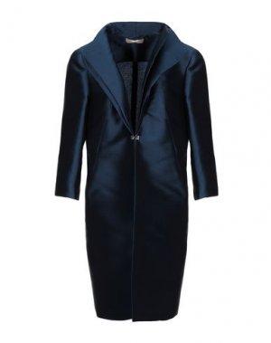 Легкое пальто AMONREE. Цвет: темно-синий