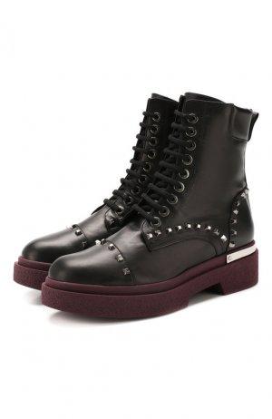 Ботинки (Байкеры) Baldan. Цвет: черный