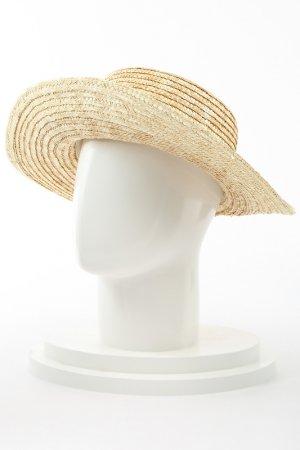 Шляпа соломенная Paccia. Цвет: бежевый