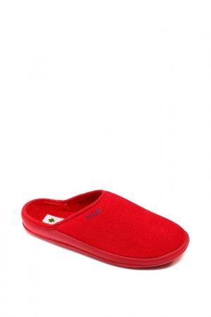 Домашняя обувь Dr.Luigi. Цвет: красный