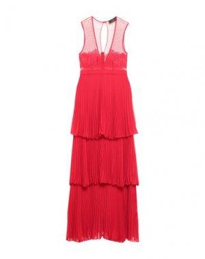 Длинное платье KI6? WHO ARE YOU?. Цвет: красный