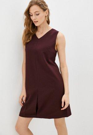 Платье shovsvaro. Цвет: бордовый