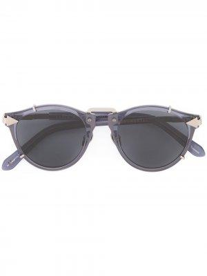 Солнцезащитные очки Apollo Karen Walker. Цвет: синий