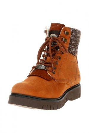 Ботинки Dockers by Gerli. Цвет: коньячный