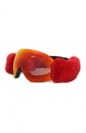 Горнолыжная маска Dolce & Gabbana. Цвет: красный