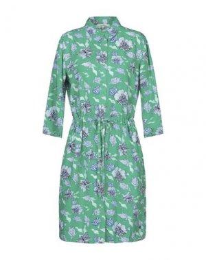 Платье до колена GARCIA. Цвет: зеленый