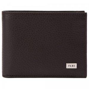 Бумажник Fabi. Цвет: коричневый