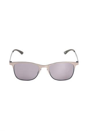 Очки солнцезащитные с линзами adidas. Цвет: 075 022 серый металлик, синий