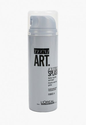 Гель для укладки LOreal Professionnel L'Oreal Tecni.Art Extreme Splash с эффектом мокрых волос. Цвет: серебряный