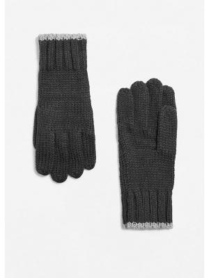 Перчатки - BERTO1 MANGO MAN. Цвет: серый