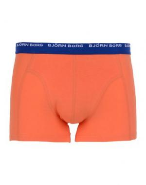 Боксеры BJÖRN BORG. Цвет: оранжевый