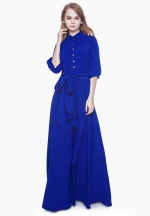 Платье Marichuell DEVALDY. Цвет: синий