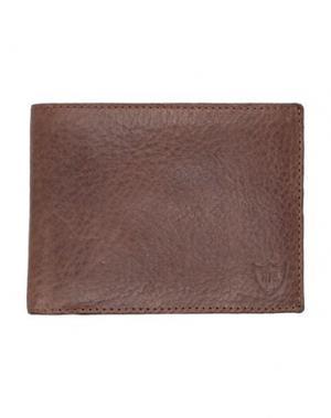 Бумажник HTC. Цвет: темно-коричневый