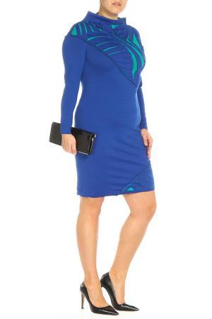 Платье D.VA. Цвет: синий